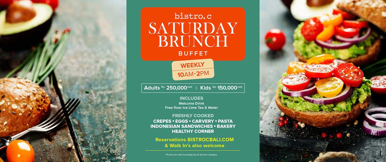 Saturday Brunch at Bitstro C Smoke House Bali