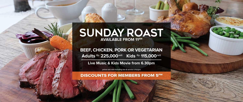 Slide Sunday Roast